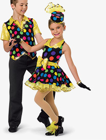 Girls Zip A Dee Doo Dah Character Dance Tutu Dress