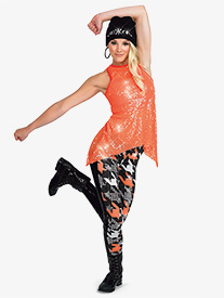 Womens Own It 2-Piece Hip Hop Dance Costume Set