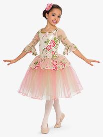 Girls Performance Evermore Floral Ballet Tutu Dress