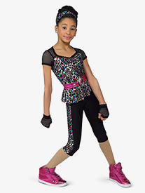 Girls Rockabye Performance Crop Pants
