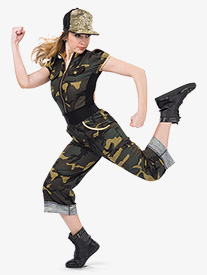 Girls Loyalty Camouflage Performance Pants