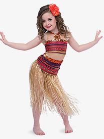 Girls How Far Ill Go 2-Piece Dance Costume Set