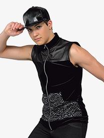 Boys Performance All This Velvet Zipper Vest