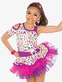 Girls Get On Your Feet Performance Tutu Skirt