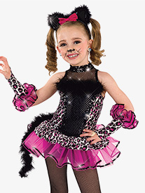 Girls Jungle Journey Character Dance Costume Set