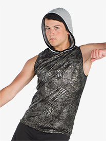 Mens Tricky Like Me Animal Print Performance Tank Top