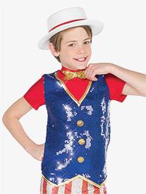 Boys Performance Doodle Dandy Short Sleeve Top