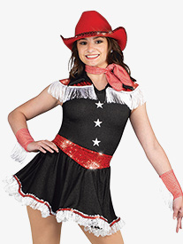 Womens Amarillo Character Dance Costume Dress