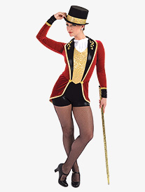 Womens The Greatest Showman Character Dance Shorty Unitard