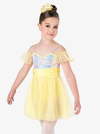 Girls Castles Lyrical Performance Dress