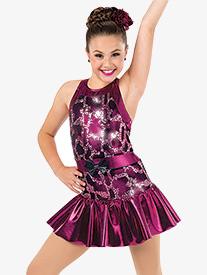 Girls Ive Got you Sequin Tank Performance Dress