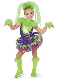 Girls Monster Mash Character Performance Tutu Dress