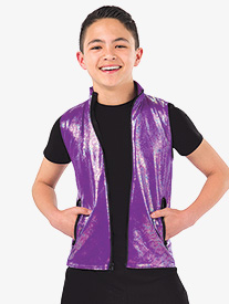 Boys Hold The Drama Metallic Performance Vest