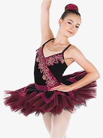 Girls Delight Of The Muses Ballet Performance Tutu Dress