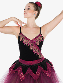Girls Delight Of The Muses Romantic Ballet Performance Tutu Dress
