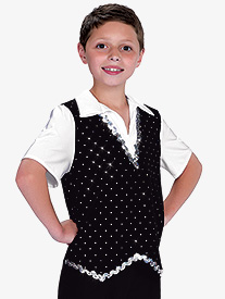 Girls Better Together Two-Tone Dance Performance Leotard