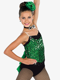 Girls Here Comes The Girls Performance Camisole Leotard