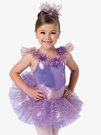 Girls Miracle Ballet Performance Tutu Dress