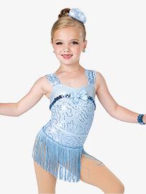 Girls Smile Performance Fringe Skirt
