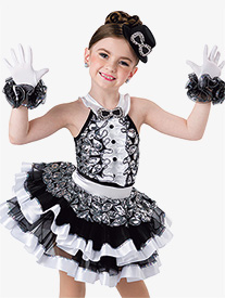 Girls Be Our Guest Layered Performance Tutu