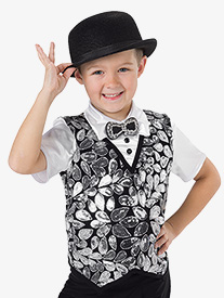 Boys Be Our Guest Sequin Performance Top