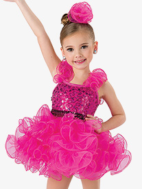 Girls I Enjoy Being A Girl 2-Piece Dance Costume Set