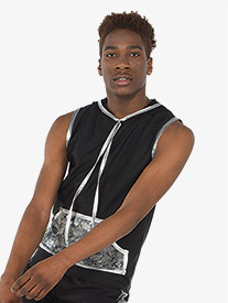 Boys Lanes Foil Splatter Performance Tank Top