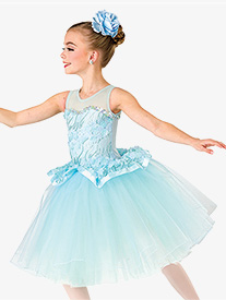 Girls Beautiful Things Lace Romantic Performance Tutu Dress