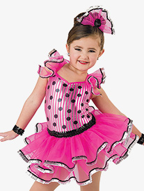 Girls Twist & Shout Polka Dot Performance Tutu Dress