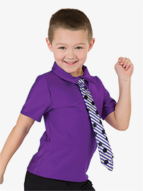 Boys Twist & Shout Performance Short Sleeve Top