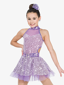 Girls Thank U, Next Sequin Performance Tutu Dress