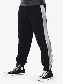 Mens Silvers Metallic Hip Hop Performance Pants