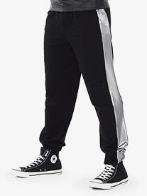 Boys Silvers Metallic Hip Hop Performance Pants