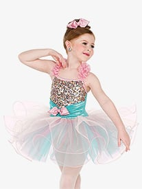 Girls 1000 Years Sequin Camisole Performance Tutu Dress