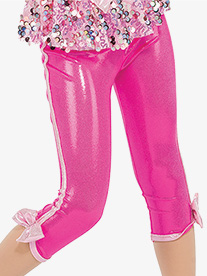 Girls Whistle Metallic Performance Leggings