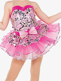 Girls Whistle Sequin Performance Tutu Skirt