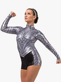 Womens Formation Sublimated Performance Shorty Unitard