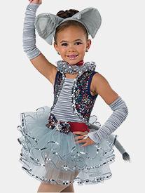Girls Stampede Sequin Performance Tutu Dress