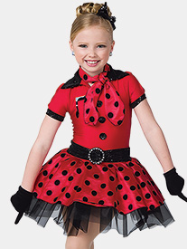 Girls Bandstand Short Sleeve Performance Tutu Dress