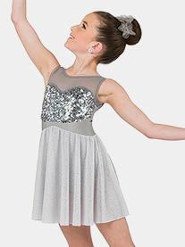 Womens Anchor Tank Lyrical Performance Dress