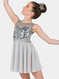 Girls Anchor Tank Lyrical Performance Dress