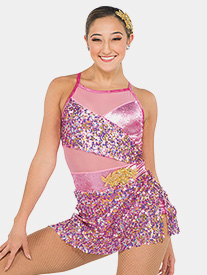 Womens Eros Sequin Camisole Performance Dress