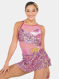 Girls Eros Sequin Camisole Performance Dress