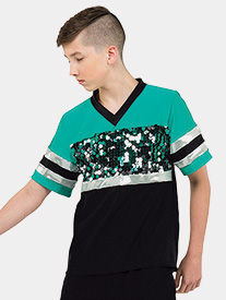 Mens Misdemeanor Sporty Short Sleeve Performance Top