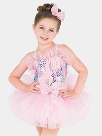 Girls Wake Up Toes Pastel Camisole Performance Tutu Dress