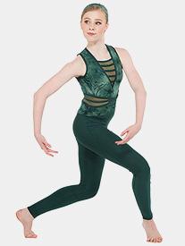 Girls In Flux Tie-Dye Tank Performance Unitard