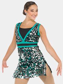 Womens New Dorp Sequin Performance Tank Dress