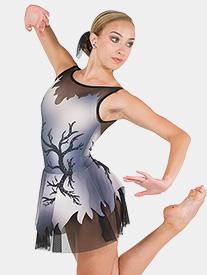 Girls Oh My My Rhinestone Sublimated Performance Dress