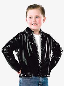 Girls Cadillac Vinyl Dance Performance Jacket