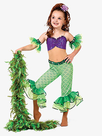 Girls A Part Of Your World Character Dance Unitard